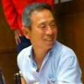 龍野FC代表山本実さんの退職を祝う会