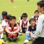 ヴィッセル神戸サッカー教室(in太子陸上)